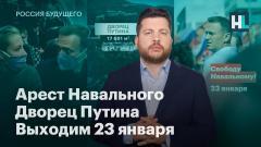 Навальный LIVE. Арест Навального. Дворец Путина от 21.01.2021