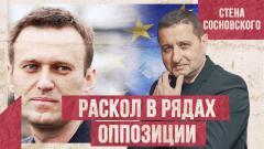 Раскол в рядах оппозиции. Европа сливает Навального. Что будет дальше? Стена Сосновского