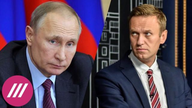 Телеканал Дождь 21.01.2021. Путин заглядывает в бездну: политолог о главной ошибке Кремля в деле Навального