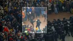 Соловьёв LIVE. Жесткие провокации против полиции на митинге в Москве от 23.01.2021