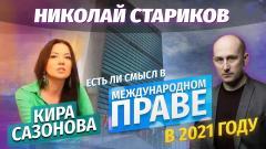 Николай Стариков. Есть ли смысл в Международном праве в 2021 году от 01.01.2021