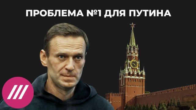 Телеканал Дождь 20.02.2021. Проблема №1 для Путина: какую цену власть готова заплатить за борьбу с Навальным
