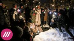 Как прошла акция в поддержку Навального «Любовь сильнее страха»