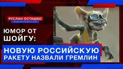 Юмор от Шойгу: новую российскую ракету назвали Гремлин