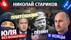 Юля без фонарика. Платошкин. Ленин и немцы