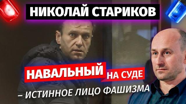 Николай Стариков 13.02.2021. Навальный на суде – истинное лицо фашизма