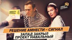 Политическая Россия. Проект Навальный заморожен. Решение Amnesty - не единственный сигнал от 25.02.2021