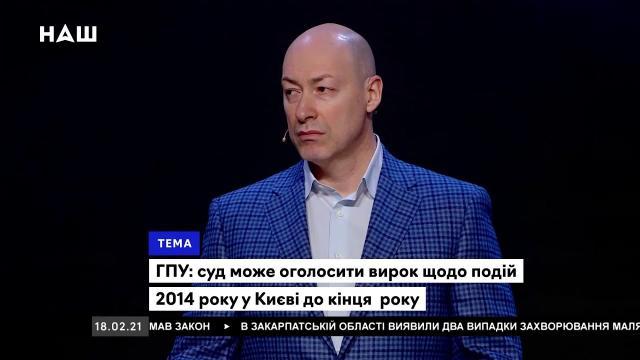 Дмитрий Гордон 21.02.2021. Как Порошенко рэкетировал Медведчука