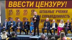 Сергей Михеев. Ввести цензуру и не давать бюджетные деньги тем, кто развращает молодёжь
