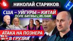 Николай Стариков. США – уйгуры – Китай. Поле битвы – ислам. Атака на Познера в Грузии от 05.04.2021