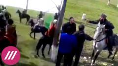 Зачем колонна чеченских всадников пыталась пересечь границу Дагестана