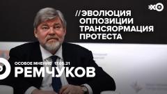 Особое мнение. Константин Ремчуков от 17.05.2021