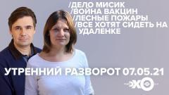 Утренний разворот. Орехъ и Воробьева. Живой гвоздь - Григорий Куксин от 07.05.2021