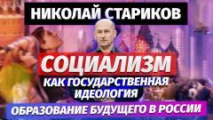 Николай Стариков. Социализм как государственная идеология, образование будущего в России от 11.06.2021