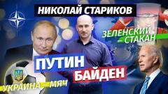 Николай Стариков. Путин и Байден, Зеленский – стакан, Украина – мяч от 10.06.2021