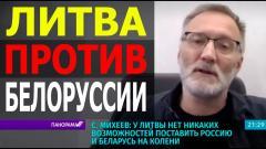 Сергей Михеев. Литва, Польша и Украина дестабилизируют Белоруссию от 10.06.2021