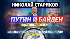Николай Стариков. Украина с «голубой каёмочкой». Путин и Байден договорятся от 14.06.2021