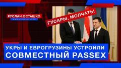 Политическая Россия. Укры и еврогрузины устроили совместный PASSEX от 03.08.2021