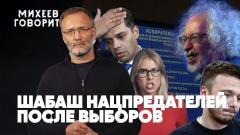 Шабаш нацпредателей после выборов. ЕСПЧ против России. Лицемерие Зеленского в США. Михеев говорит