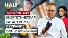 НАШ. Рыбный четверг. Энергетическая катастрофа в Украине. Контрабанда леса от 14.10.2021