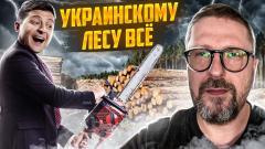 Анатолий Шарий. Зеленский побеждает украинский лес от 15.10.2021
