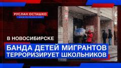 Политическая Россия. Банда детей мигрантов терроризирует школьников в Новосибирске от 24.10.2021