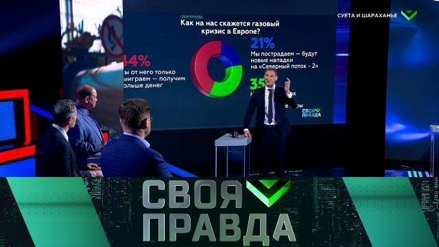 Своя правда с Романом Бабаяном 08.10.2021. Суета и шараханье